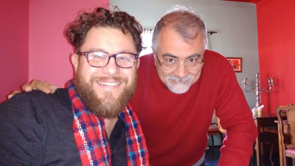 Roberto Parmeggianni e José Santos